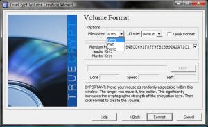 Auswahl des zu verwendenden Filesystems