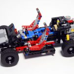 modernes Autochassis mit Boxermotor
