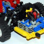 detaillierter Boxermotor im Käfer-Layout